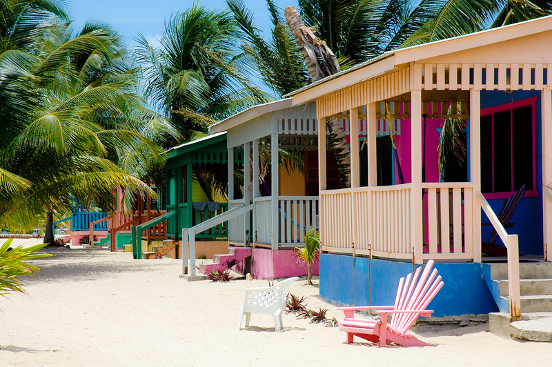Beach Cabanas<br /> Placencia