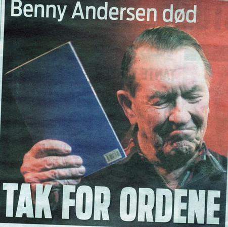 BENNY ANDERSEN: MANDAG VILLE PASSE MIG BEDRE!