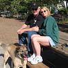 WARREN, GILDA, & TYSON AT A DOGGIE PARK