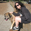HEATHER & TYSON AT THE DOG PARK