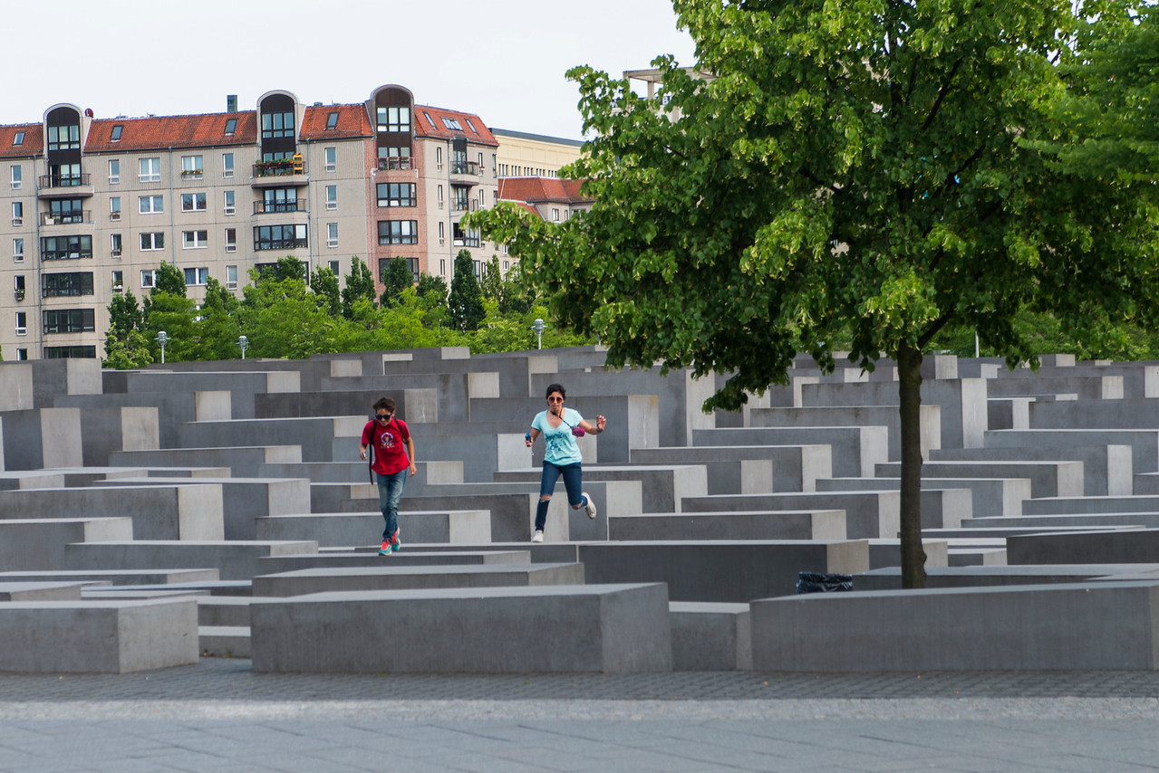 Memorial for the murdered Jews of Europe, Berlin.