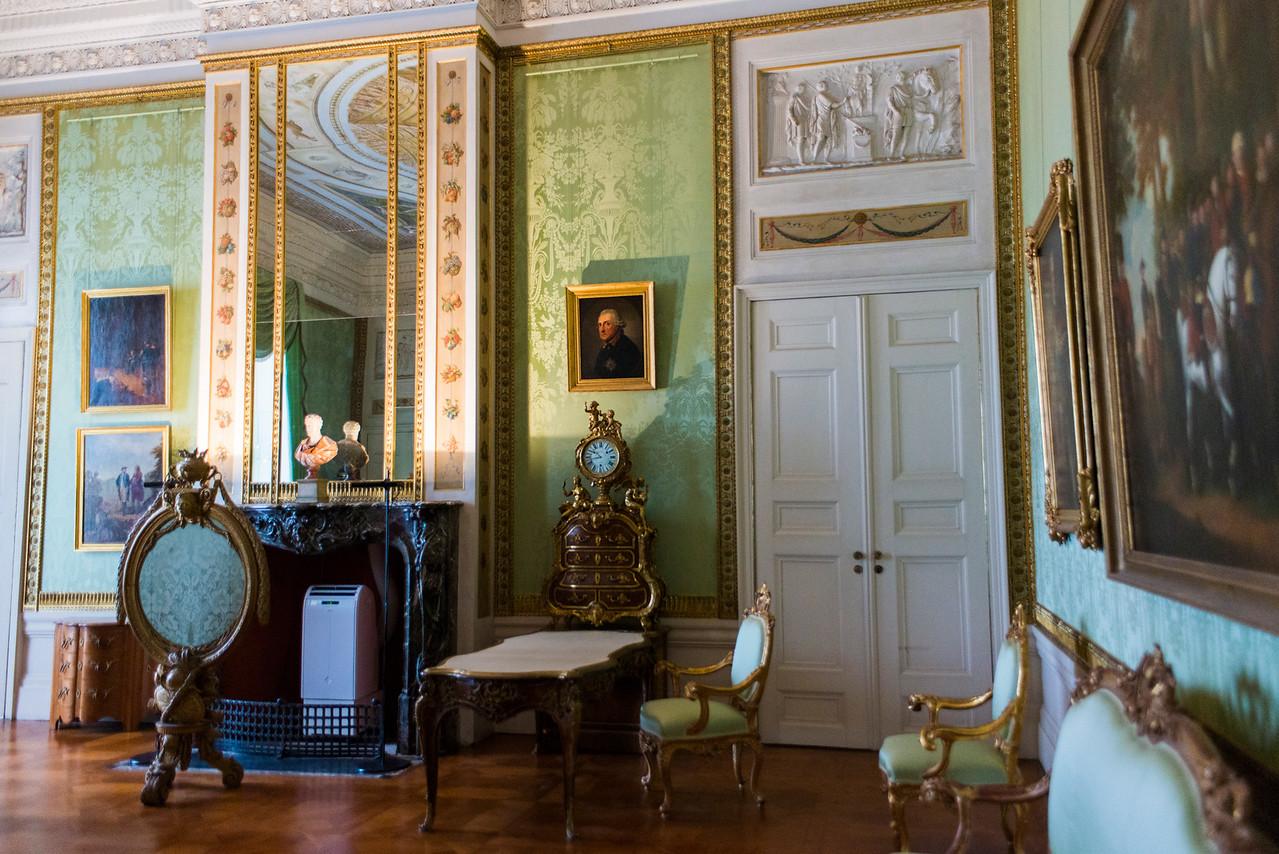 Sanssouci Palace living room.