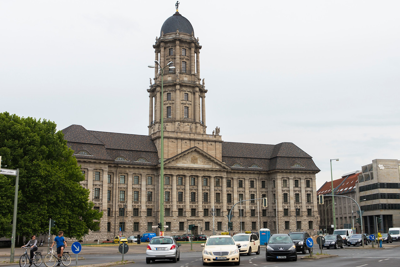 Altes Stadthaus, Berlin, houses the Senate today.  Built in 1902-11 and completely refurbished in the 1990's.