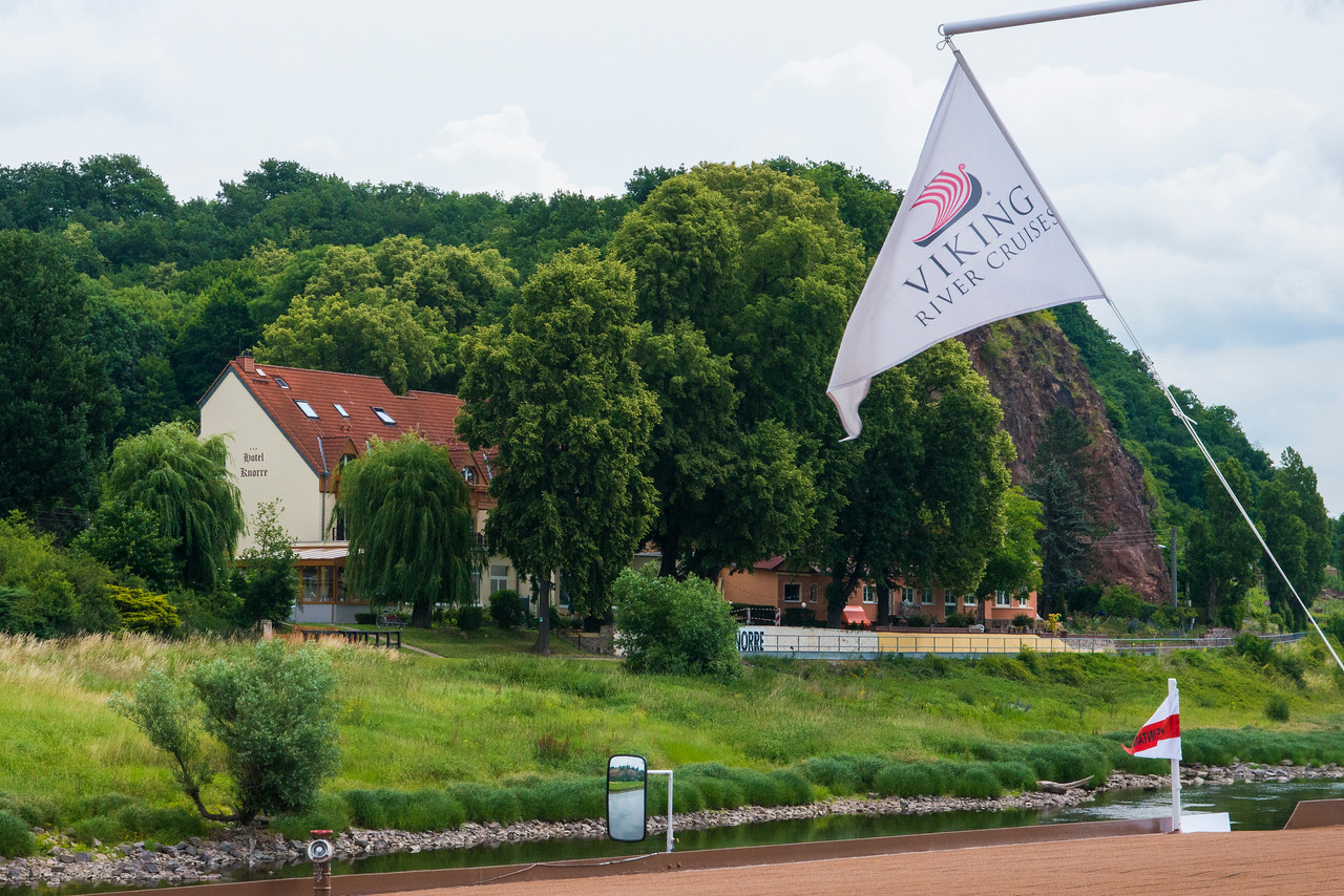 Family run Hotel Knorre, two kilometers north of Meissen.