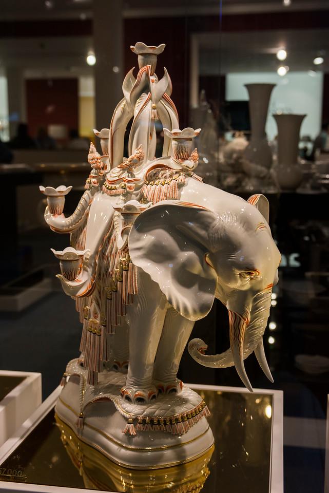 Porcelain pachyderm.