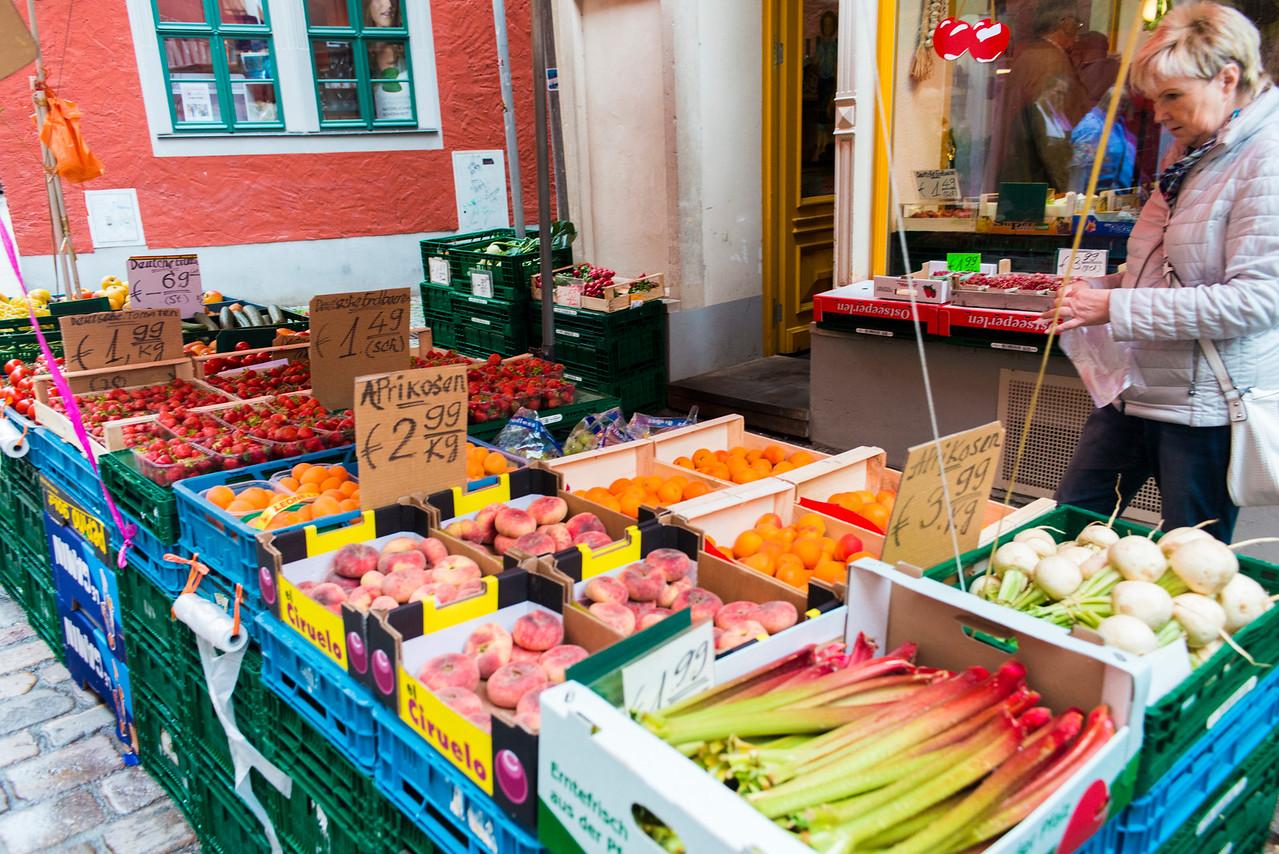 Meissen street market.