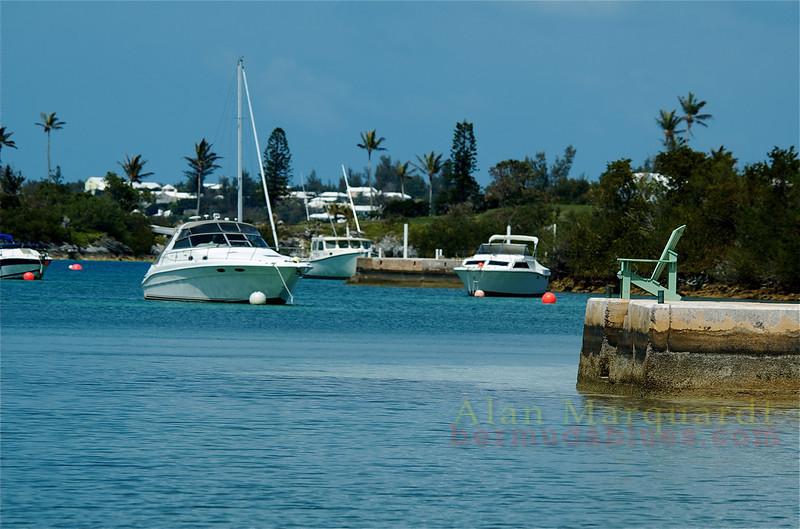 Nice veiw from the dock, Somerset, Bermuda