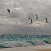 Kite surfing, Elbow beach, Bermuda