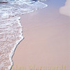 Beautiful pink sand on the beach, Horseshoe Bay, Bermuda.