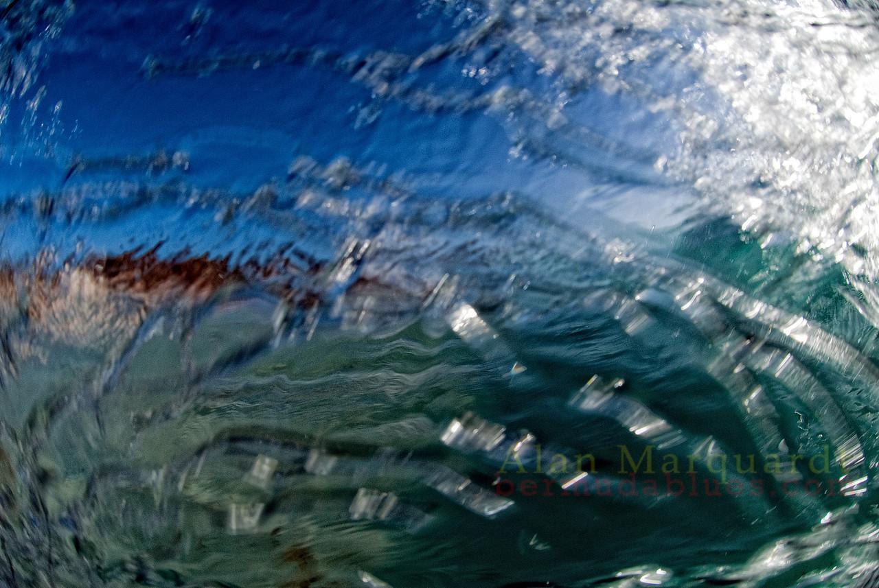 Wet lens, Southshore, Bermuda.
