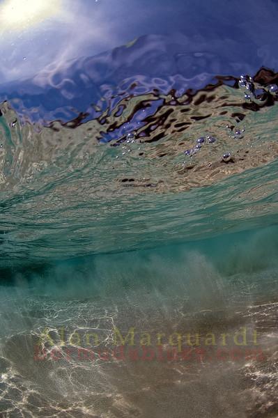 Shallow water, Southshore, Bermuda.