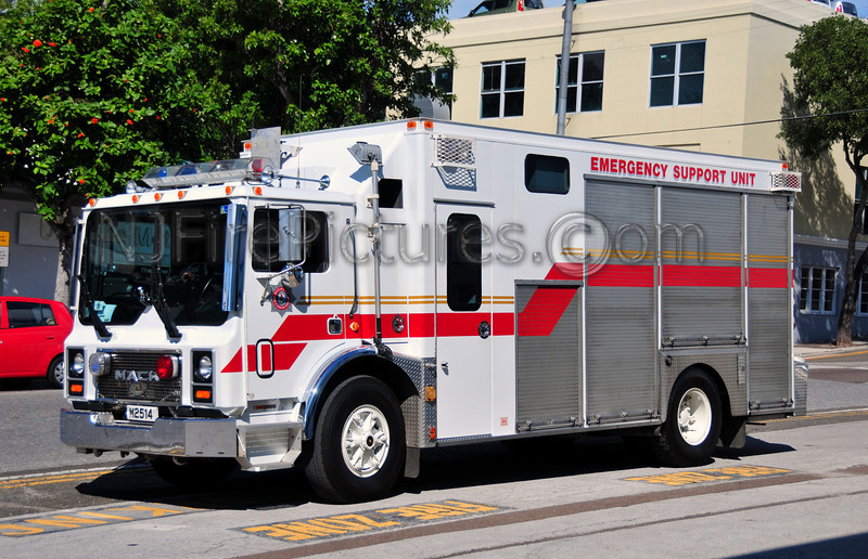 BERMUDA EMERGENCY SUPPORT UNIT - 1993 MACK MR/DEPENDABLE