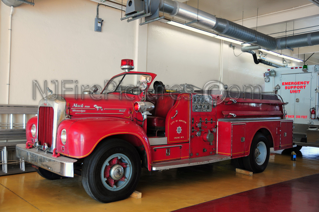 BERMUDA ENGINE 9 - 1963 MACK B85F 1250GPM  LAST OF 3 THAT WERE IN SERVICE IN BERMUDA. CURRENTLY NOT IN SERVICE. SN# B85F1412