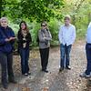 Field trip with Chrisiene Webber (Strasbourg FR), Tischa Munoz-Erikson (Forest Service), ?, David Iwaniak, Morgan Grove (R).