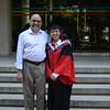 Dr. Wenjuan Yu graduating from UCAS