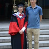 Dr. Wenjuan Yu, graduate of the University of Chinese Academy with her doctoral advisor, Prof. Weiqi Zhou .