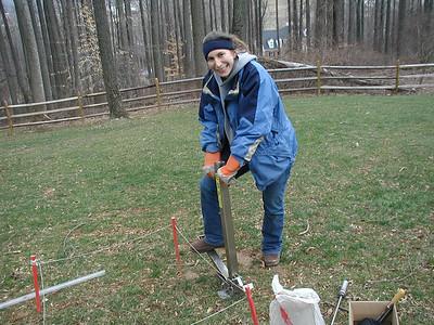 BES fieldwork - Residential Carbon Sampling