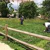 MTC Inmates Maintain Vacant Lot Greening Effort