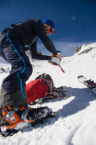 Crampons on