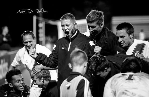 Men's Soccer vs. Butler, 09/28/16, Evan De Stefano