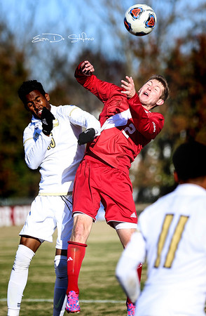 Men's Soccer vs. Akron, 11/20/16, Evan De Stefano