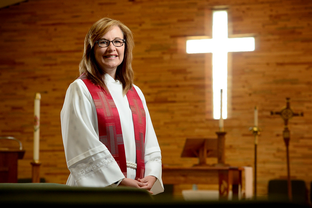 . Felicia SmithGraybeal at St. Brigit Episcopal Church on Thursday. Matthew Jonas/Staff Photographer May 11, 2017