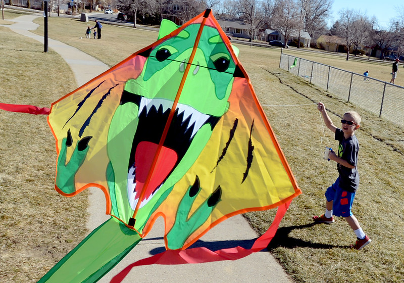 Kites at North Boulder Park