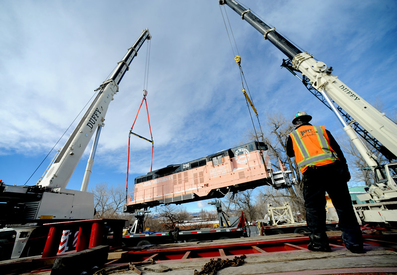 Historic Train Moved Will go to Utah
