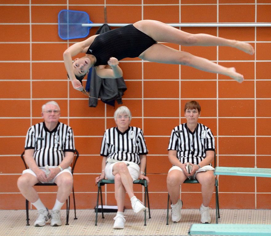 Longmont City Girls Swim Meet