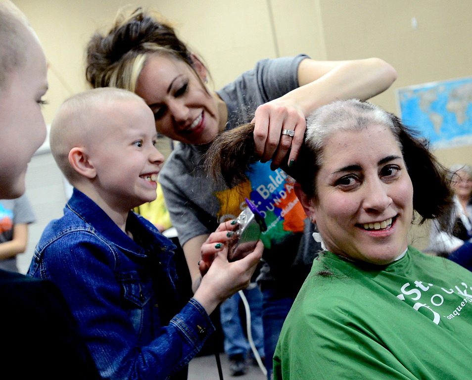 Marlee Pack and the St. Baldrick Foundation