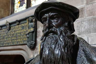 John Knox statue in St. Giles Church