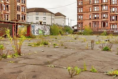 Derelict school yard