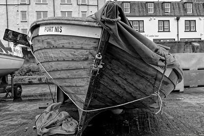 In Stornoway harbour