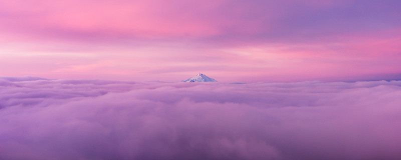 Cotton Candy Mountain.
