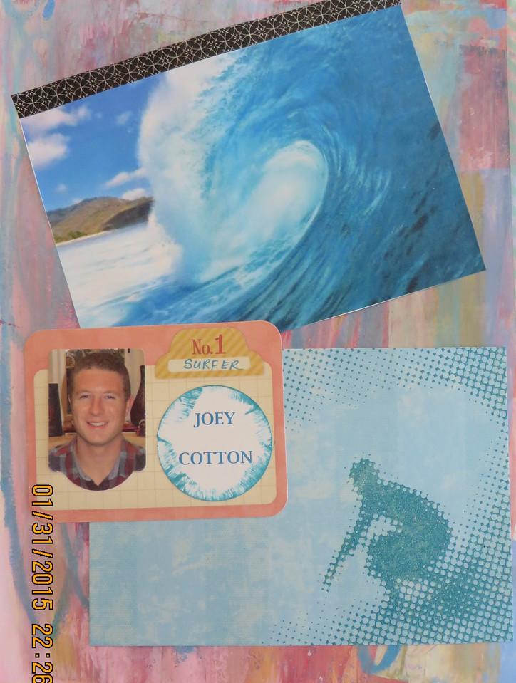 Joey Cotton, t he Surfer!