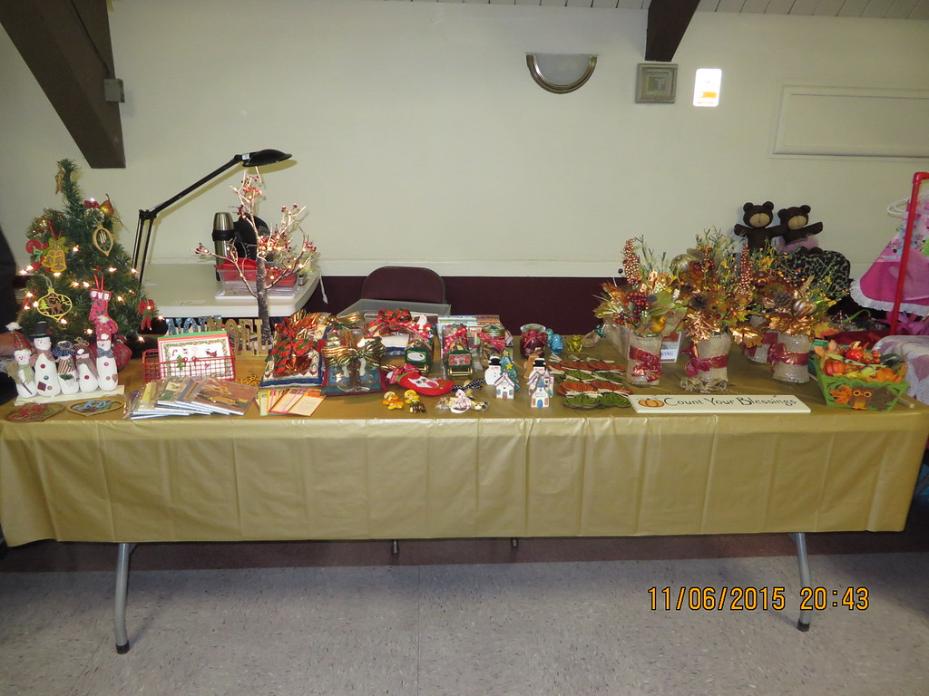 BETTY'S CRAFT SHOW AT LEISURE WORLD SEAL BEACH HELD ON NOVEMBER 6TH AND 7TH,  2015