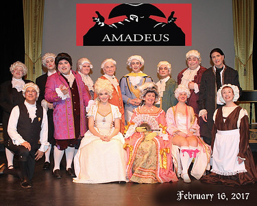 BEVERLY THEATRE GUILD  - 'Amadeus'   February,  2017