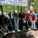 Cpl. Larry Bailey USMC Groundbreaking