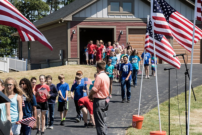 USMC LCpl Thomas Caleb Getscher Home Dedication