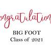 big foot congrats