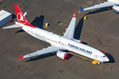 Turkish Airlines Boeing 737-9 MAX TC-LYB 9-10-20 2