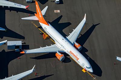 Sunwing Airlines Boeing 737 8 MAX N5573P C-FYXE 9-10-20