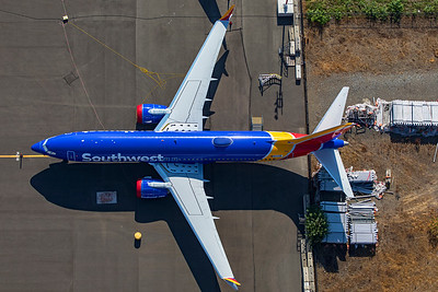 Southwest Airlines Boeing 737-8 MAX N1800B 9-10-20