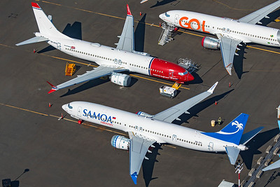 Samoa Airways Boeing 737-9 MAX DQ-TFL 9-10-20 2