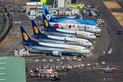 Jet Airways Boeing 737-8 MAX VT-JXH 9-10-20 5