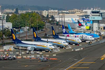 Jet Airways Boeing 737-8 MAX VT-JXH 9-10-20 7