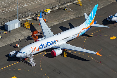 flydubai Boeing 737-8 MAX A6-FML 9-24-21