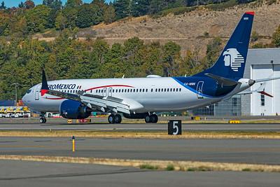 AeroMexico Boeing 737-9 MAX XA-NNN 9-24-21