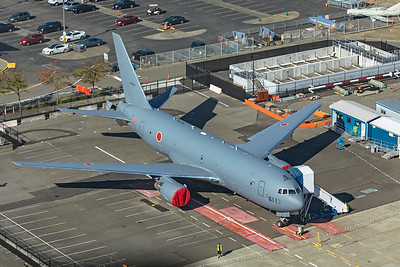 Japan Air Self-Defence Force Boeing KC-46A 14-3611 9-24-21