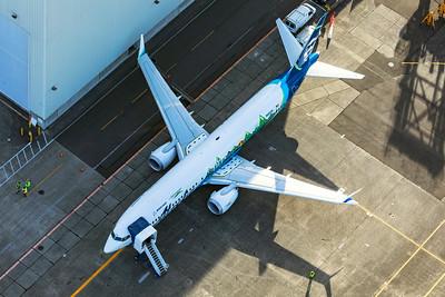Alaska Airlines Boeing 737-9 MAX N60436 9-24-21